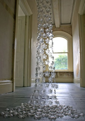pop can chandelier